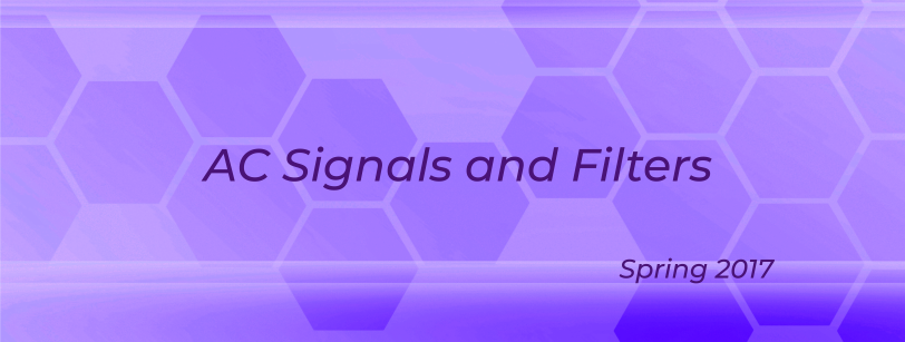 EE 0102 - AC Signals and Filters