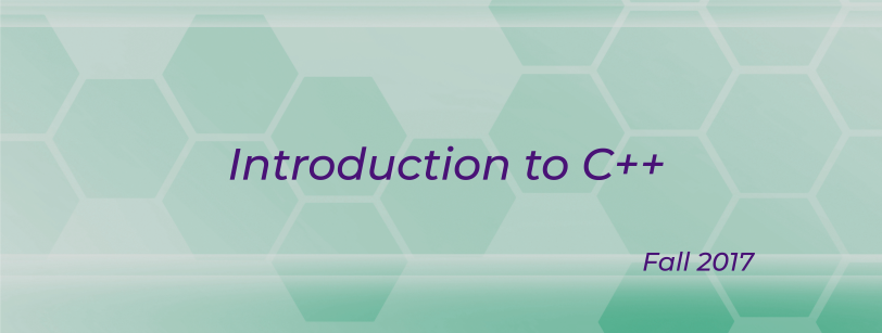 MATH 0101 - Introduction to C++