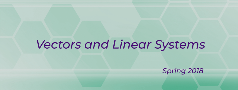 MATH 0103 - Vectors and Linear Systems (C++)