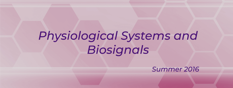 BIO 0105 - Physiological Systems and Biosignals